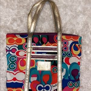 Super fun Coach purse